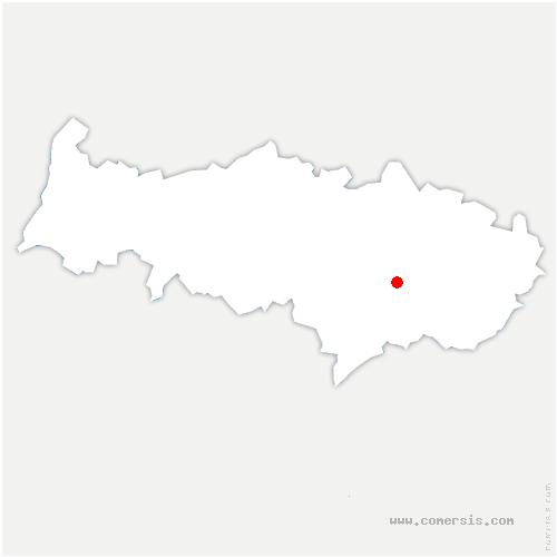 carte de localisation de Bouffémont