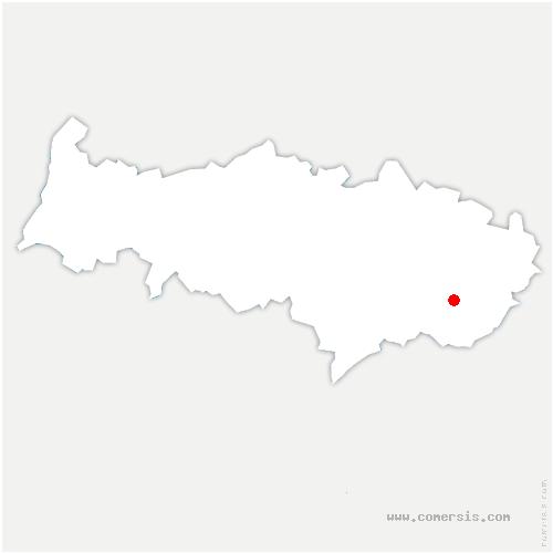 carte de localisation de Bouqueval