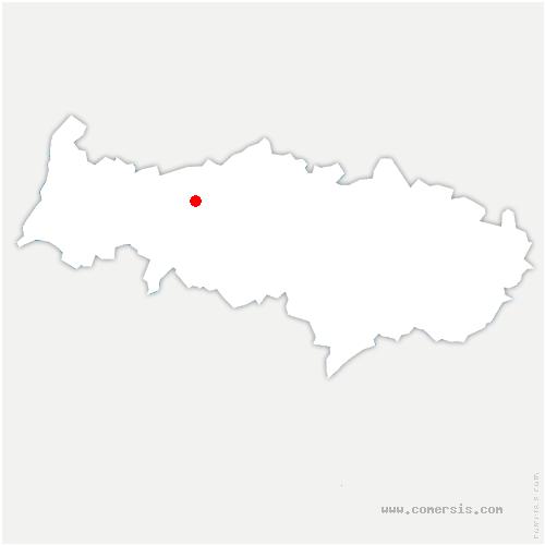 carte de localisation de Brignancourt