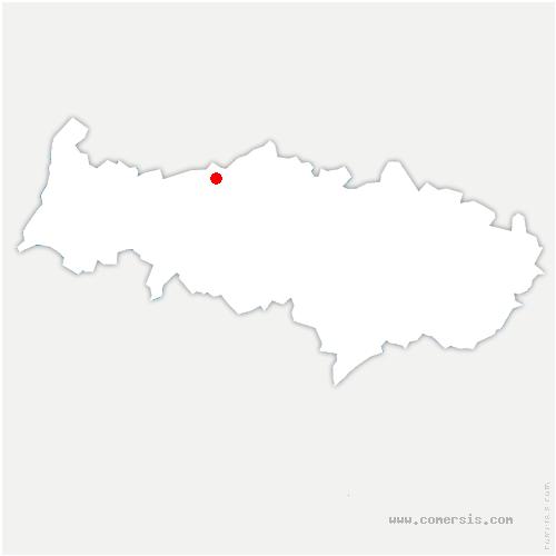 carte de localisation de Chars