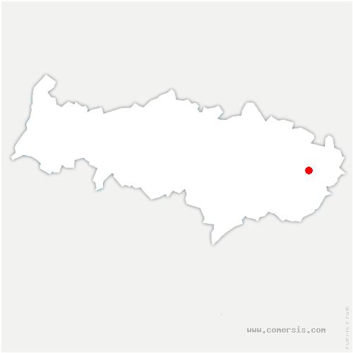 carte de localisation de Châtenay-en-France