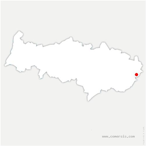 carte de localisation de Chennevières-lès-Louvres