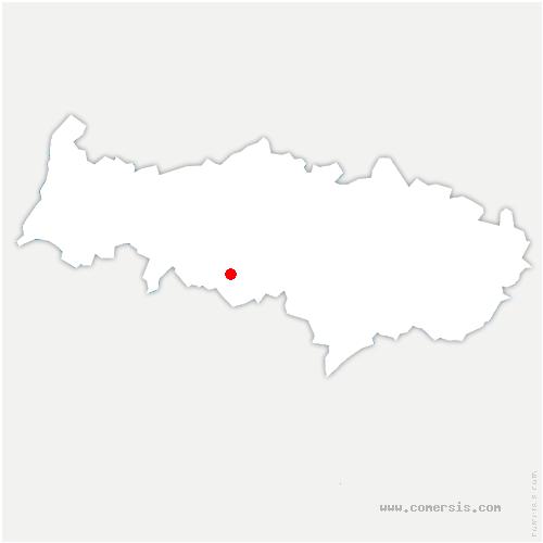 carte de localisation de Courdimanche