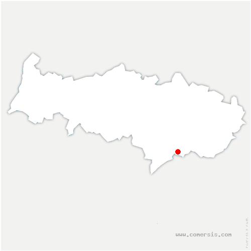 carte de localisation de Deuil-la-Barre