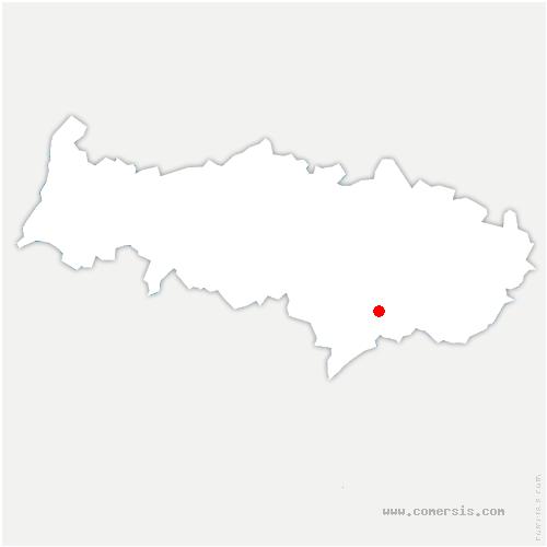 carte de localisation de Eaubonne