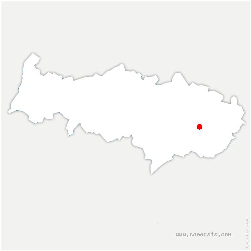 carte de localisation de Écouen