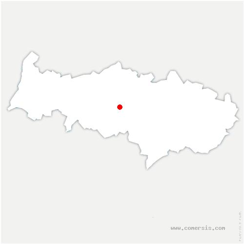 carte de localisation de Ennery