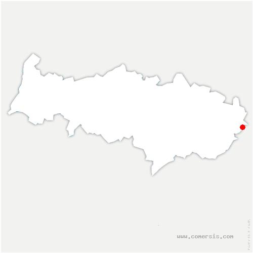 carte de localisation de Épiais-lès-Louvres