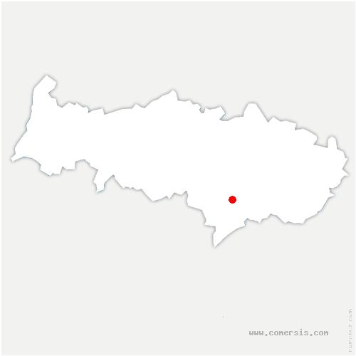carte de localisation de Ermont