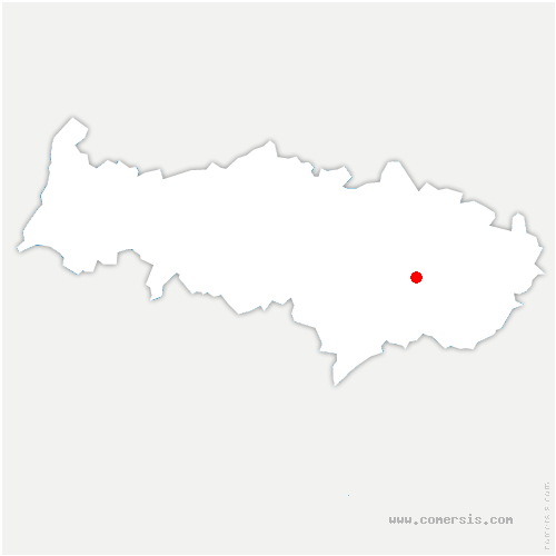 carte de localisation de Ézanville