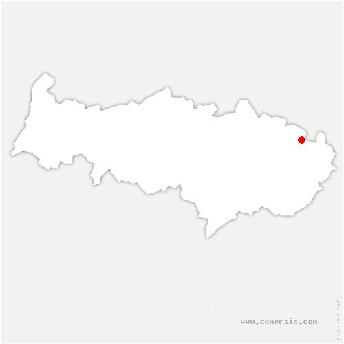 carte de localisation de Fosses