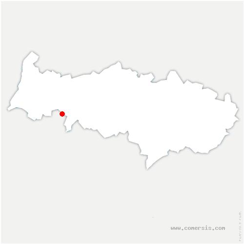 carte de localisation de Frémainville