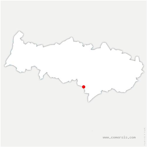carte de localisation de Frette-sur-Seine