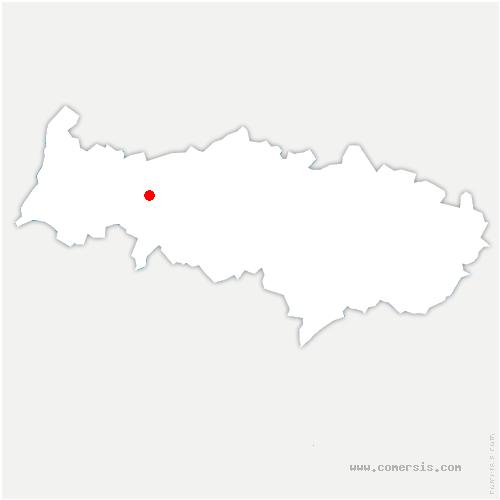 carte de localisation de Gadancourt