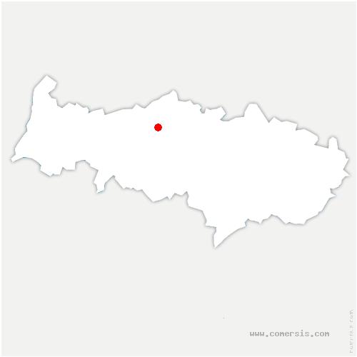 carte de localisation de Grisy-les-Plâtres