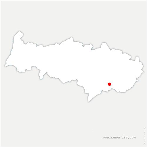 carte de localisation de Groslay