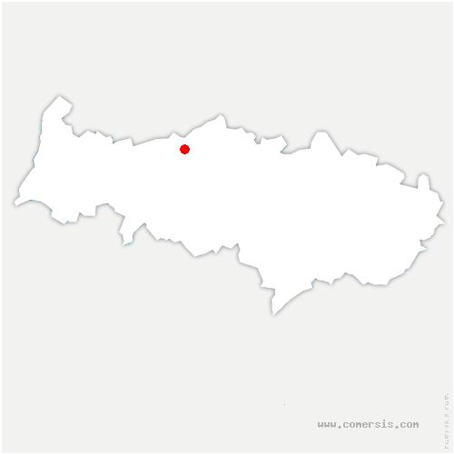 carte de localisation de Heaulme