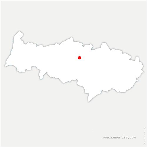 carte de localisation de Hérouville