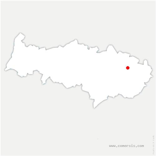 carte de localisation de Lassy