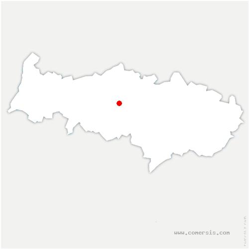 carte de localisation de Livilliers