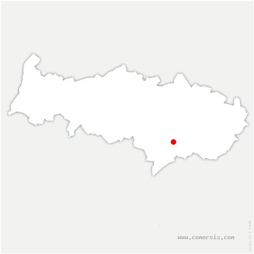 carte de localisation de Margency