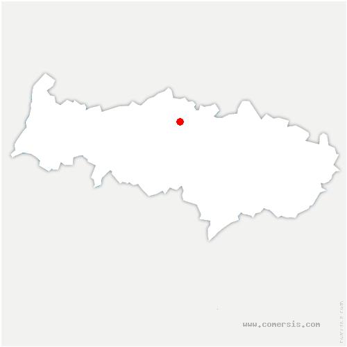 carte de localisation de Menouville
