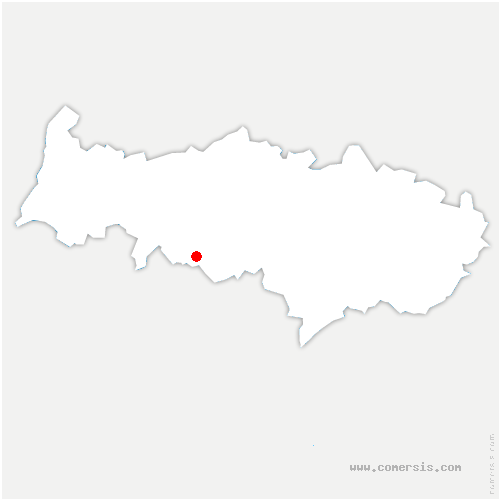 carte de localisation de Menucourt