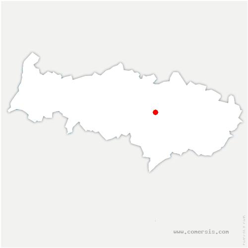 carte de localisation de Mériel