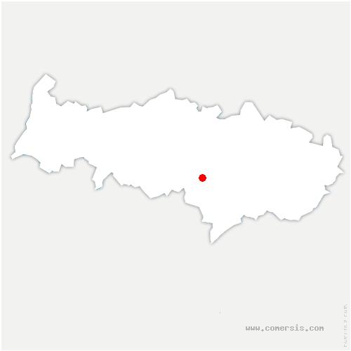 carte de localisation de Méry-sur-Oise