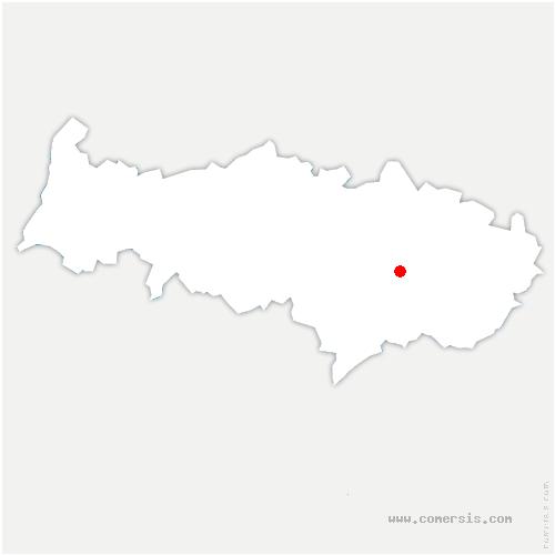 carte de localisation de Moisselles