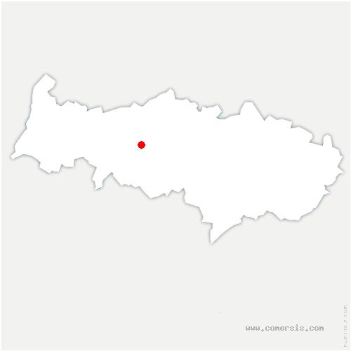 carte de localisation de Montgeroult