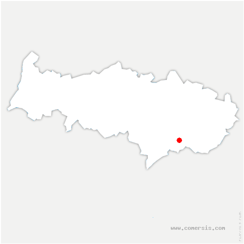 carte de localisation de Montmorency