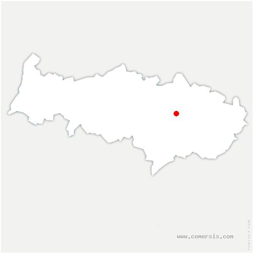 carte de localisation de Montsoult