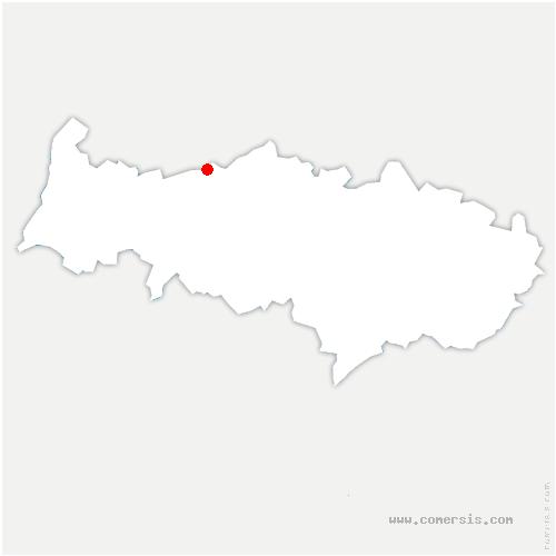carte de localisation de Neuilly-en-Vexin