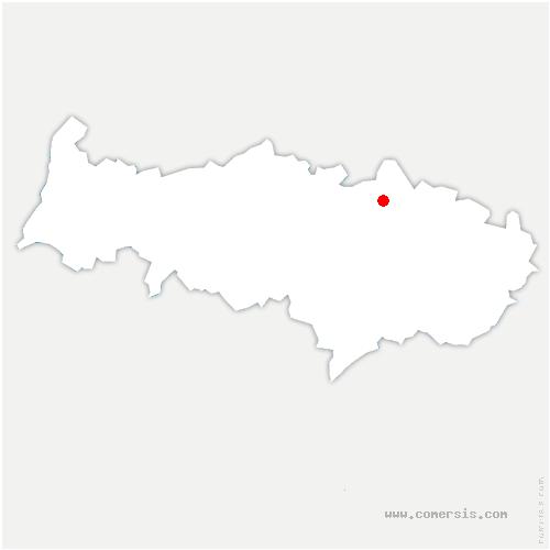 carte de localisation de Nointel