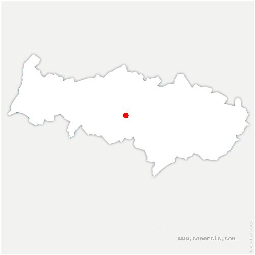 carte de localisation de Osny