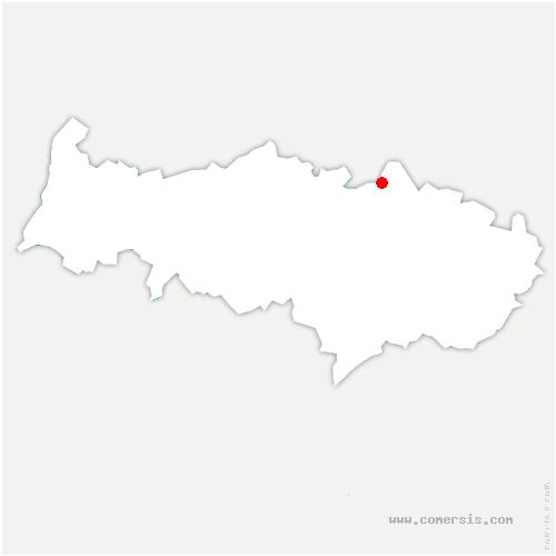 carte de localisation de Persan
