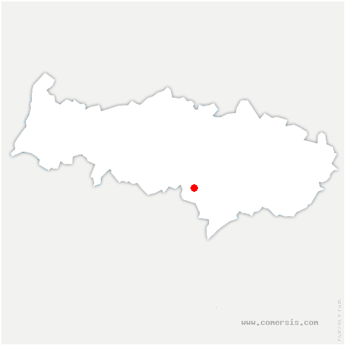 carte de localisation de Pierrelaye