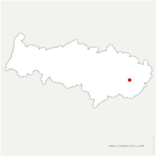 carte de localisation de Plessis-Gassot