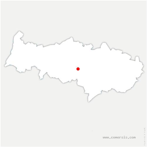 carte de localisation de Pontoise