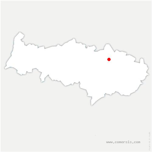 carte de localisation de Presles