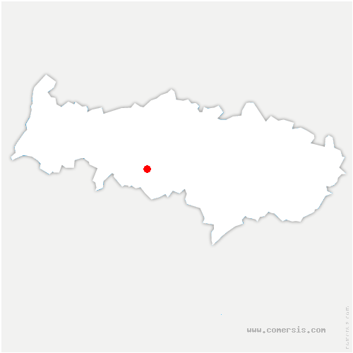 carte de localisation de Puiseux-Pontoise