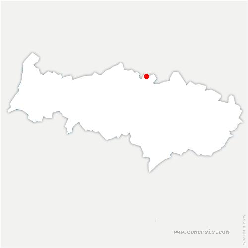 carte de localisation de Ronquerolles