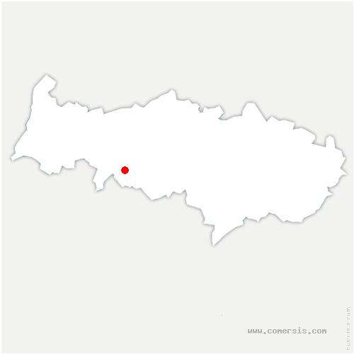 carte de localisation de Sagy