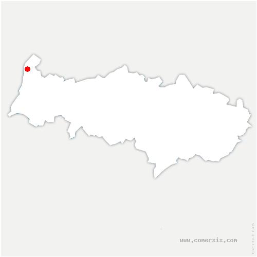 carte de localisation de Saint-Clair-sur-Epte