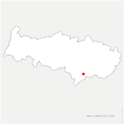 carte de localisation de Saint-Gratien