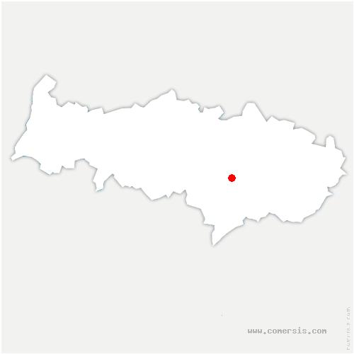 carte de localisation de Saint-Leu-la-Forêt