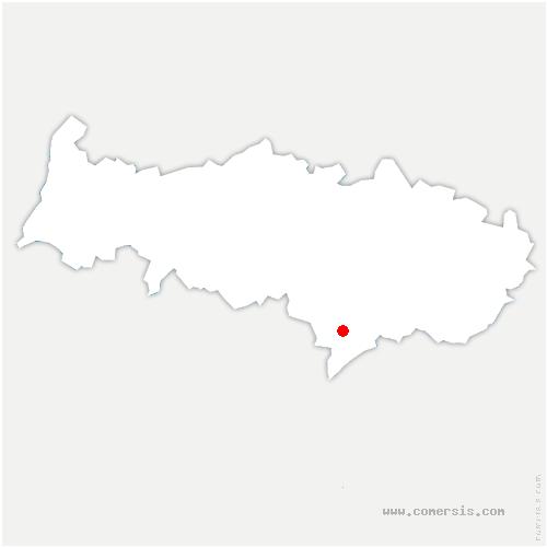 carte de localisation de Sannois