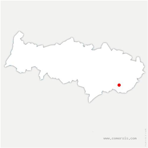 carte de localisation de Sarcelles