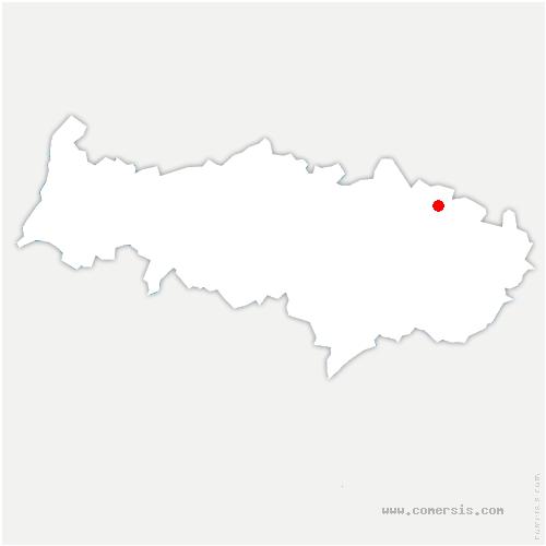 carte de localisation de Seugy